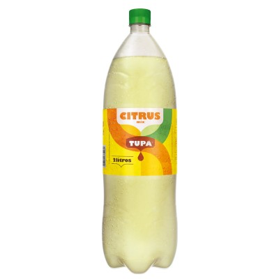 Rendering 3D – Refrigerante Tupã- Citrus 2L