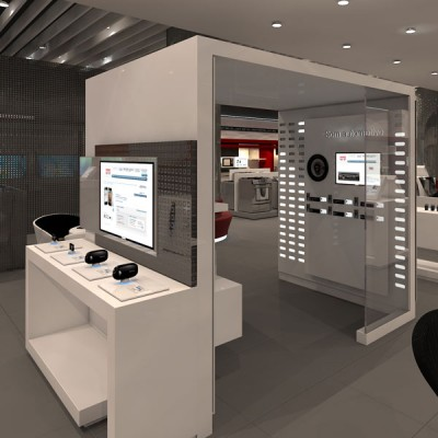 Maquete Eletrônica 3D – Fast Shop