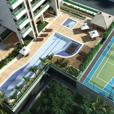 Maquete Eletrônica 3D – Novaes – Plaza de Aníbal
