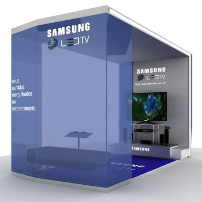 Maquete Eletrônica 3D – Samsung