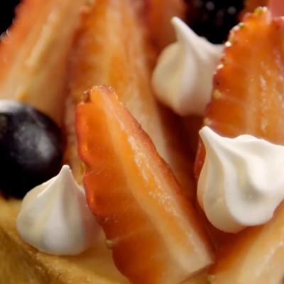 Food Filme – Sablé Diamant – Tortinha